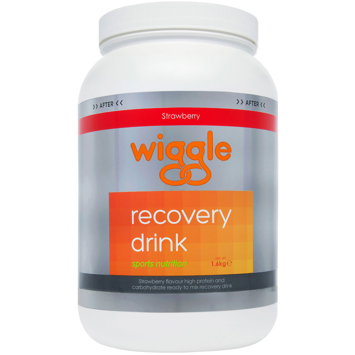 Wiggle Nutrition Recovery Drink Strawberry (1.6kg)