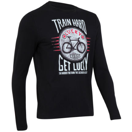 Cycology -Train Hard Get Lucky T-shirt (lange mouwen)