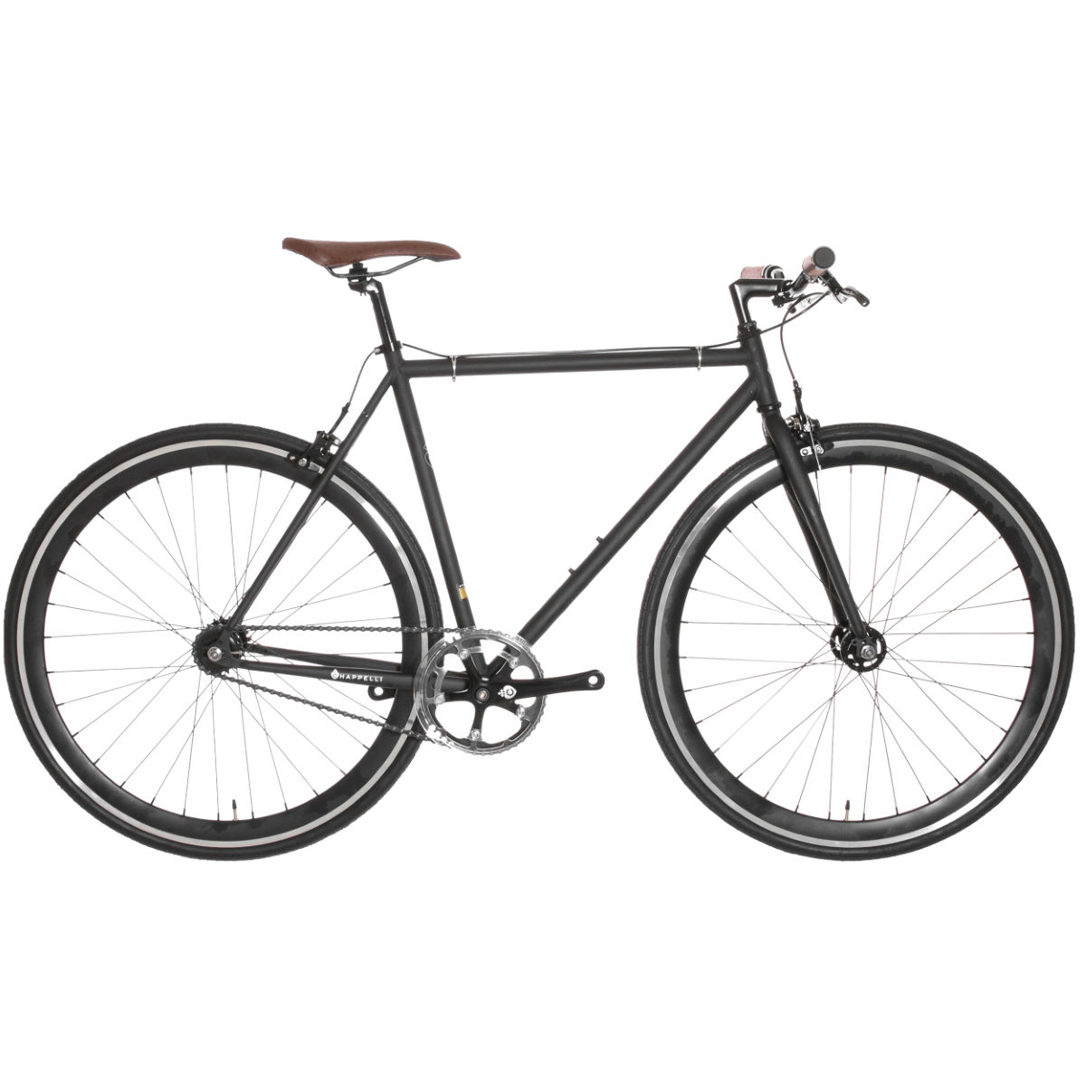 Vélo Chappelli Modern Single Speed (2016) - 58cm Noir/Noir Single speed