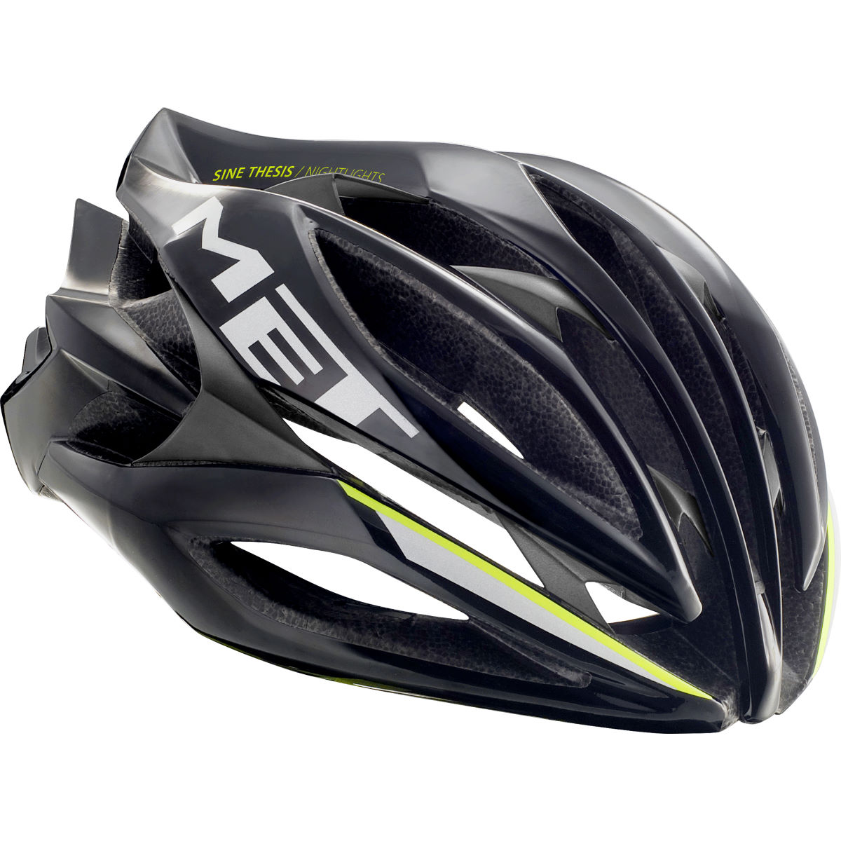 Casco de carretera MET Sine Thesis (Nightlights - ICE LITE)