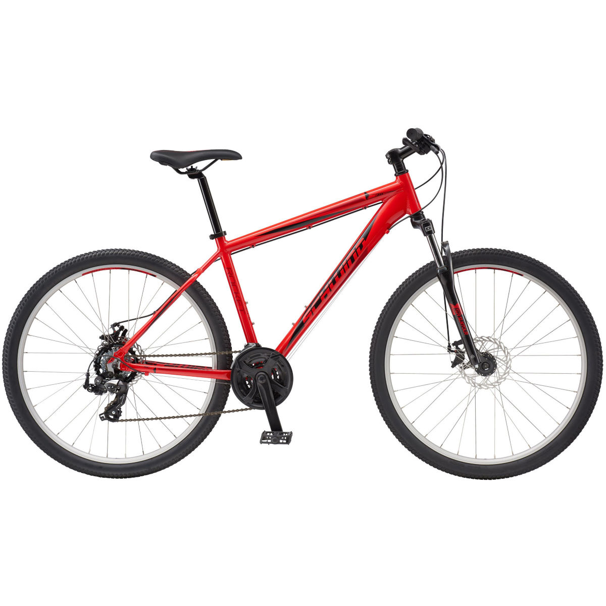 VTT Schwinn Rocket 5 (2016) - XL Rouge VTT semi-rigides