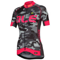 Alé Womens Graphics PRR Camo Jersey Black/Blue S