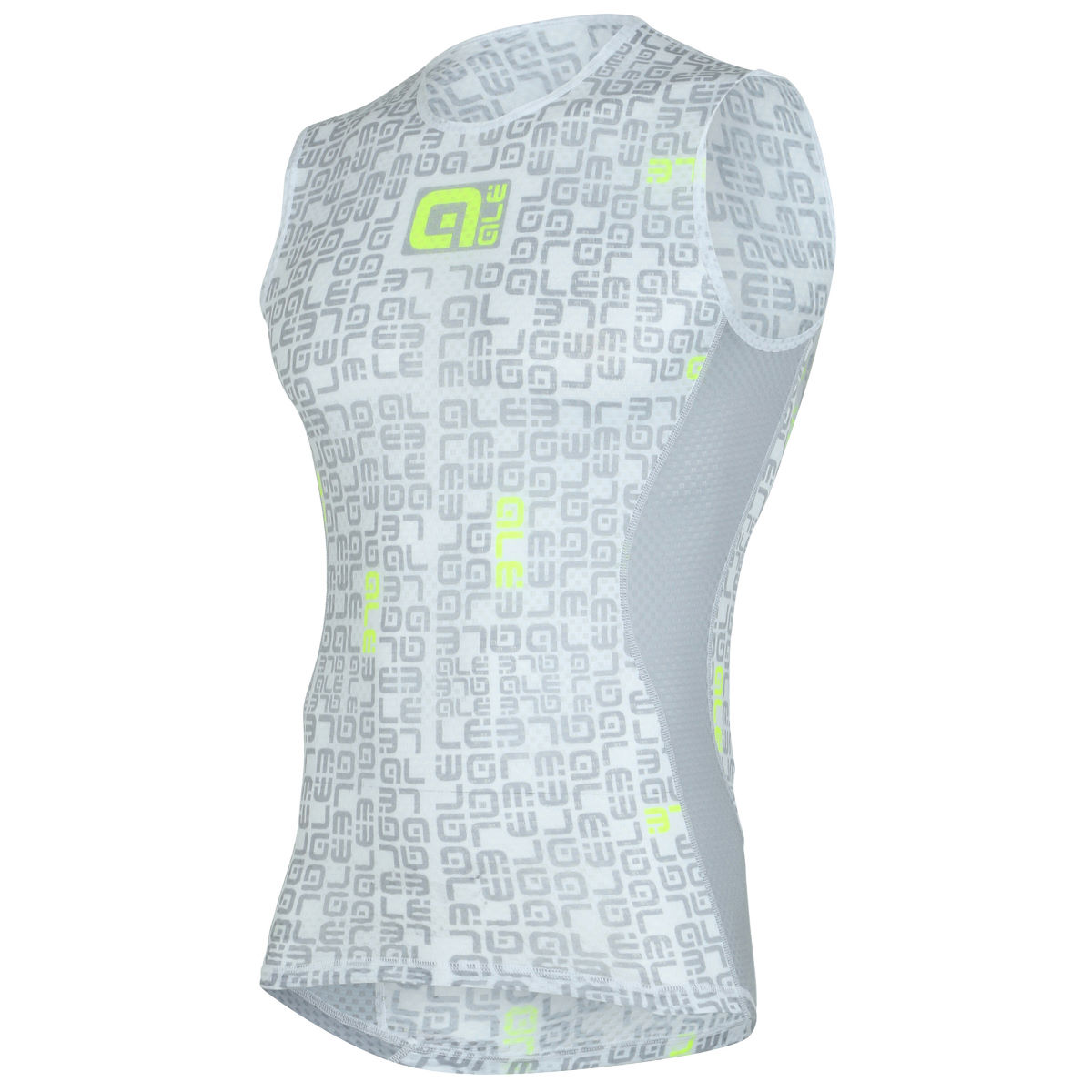 Alé Velo Active Base Layer - Small Grey/Yellow | Base Layers