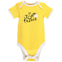 Tour de France Baby Body (2016, kurzarm, gelb)