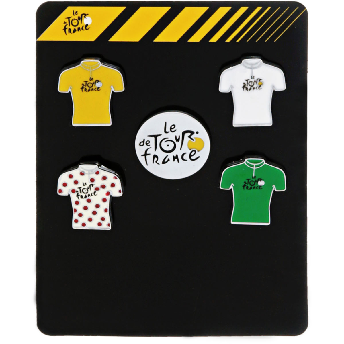 Pins Tour de France (lot de 5) - Taille unique Multicolore