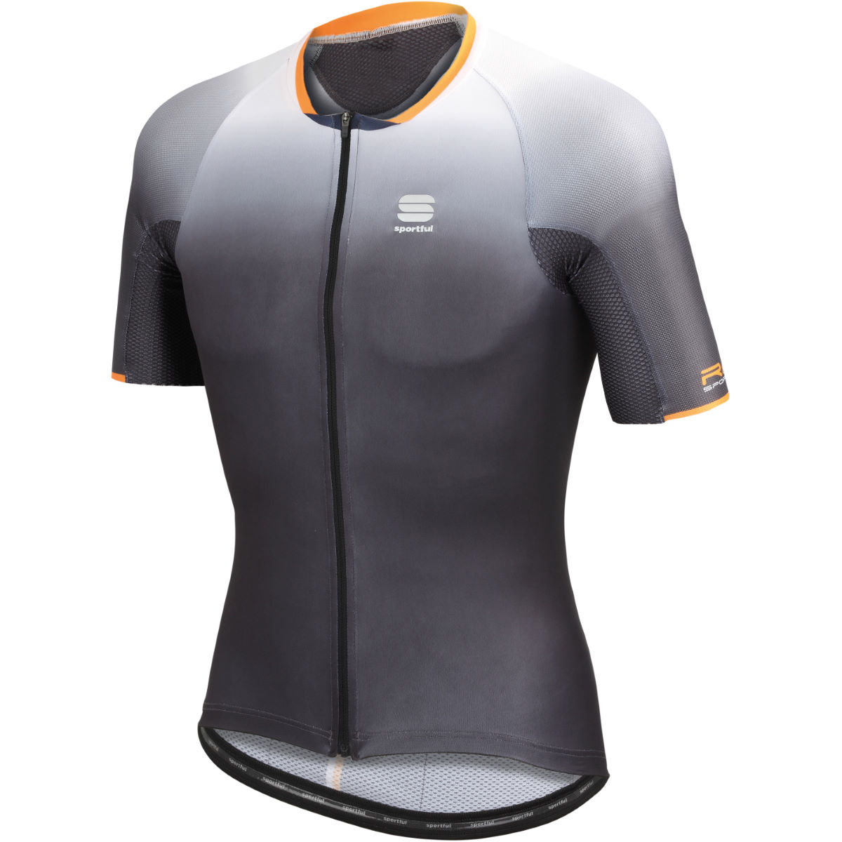 Maillot Sportful R & D Speed Skin - XXXL Anthracite Maillots vélo à manches courtes