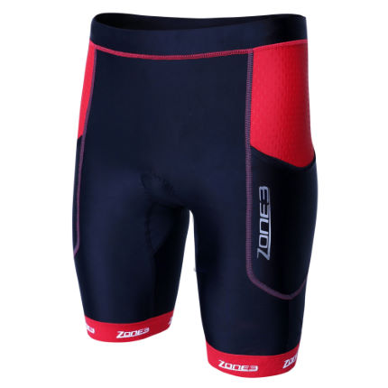 Pantaloncini uomo da triathlon Zone3 Aquaflo Plus