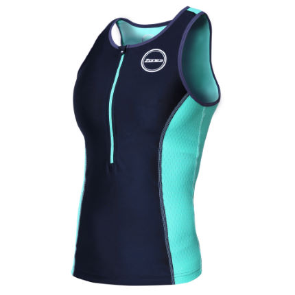 Haut de triathlon Femme Zone3 Aquaflo Plus