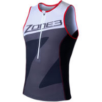 Top uomo da triathlon Zone3 Lava Long Distance