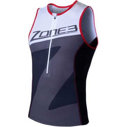 Zone3 Men's Lava Long Distance Tri Top (2016)