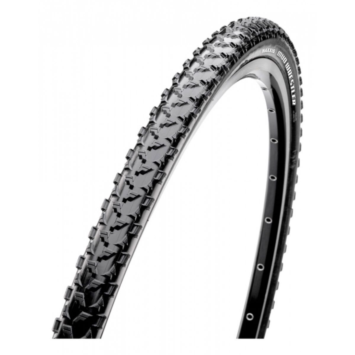 Pneu Maxxis Mud Wrestler EXO TR (souple) - 33mm 700c Noir
