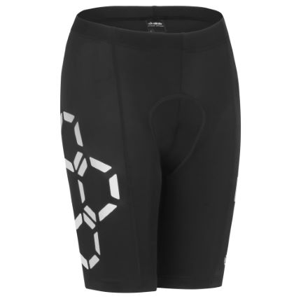 dhb Flashlight korte fietsbroek voor dames