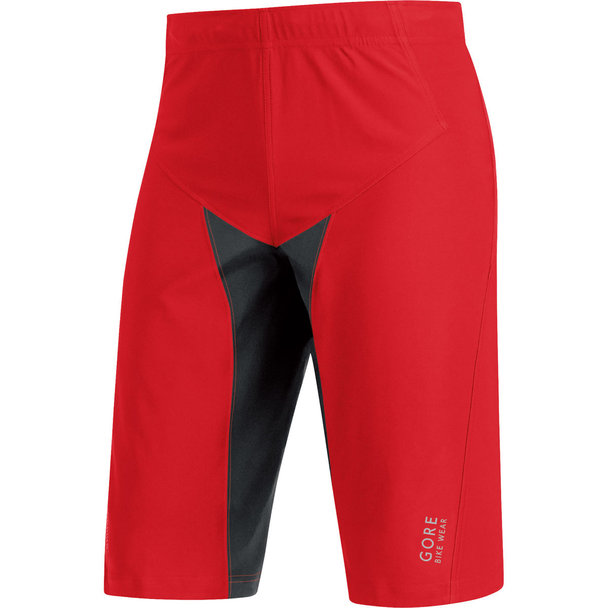 Short Gore Bike Wear Alp-X Pro Windstopper Softshell (PE15) - XXL Rouge/Noir Shorts VTT