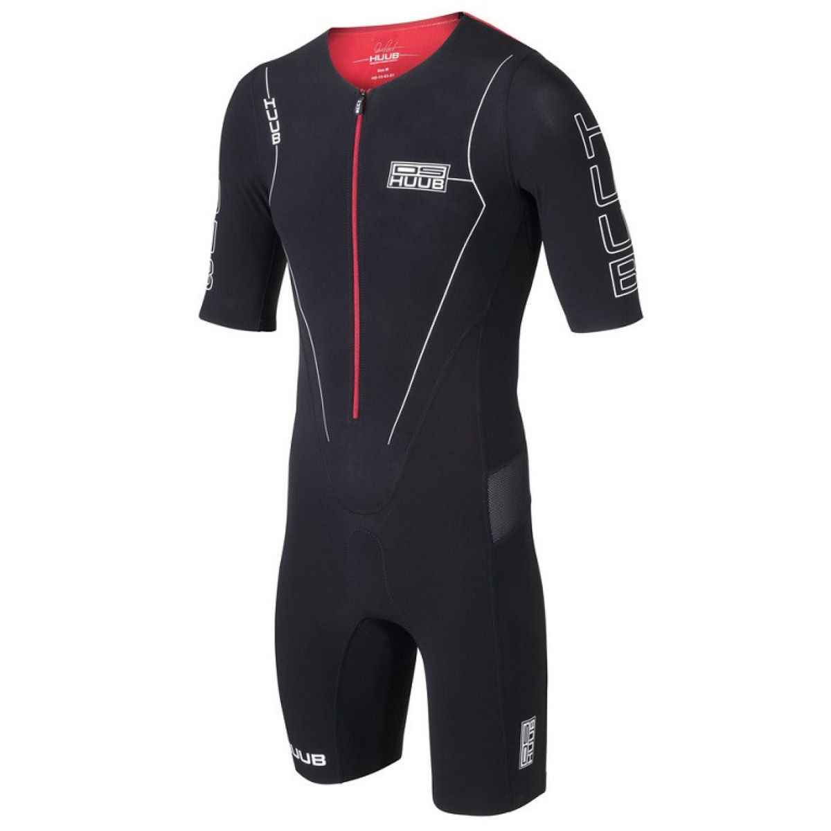 HUUB DS Long Course Triathlon Suit (Black) - Large Black | Tri Suits
