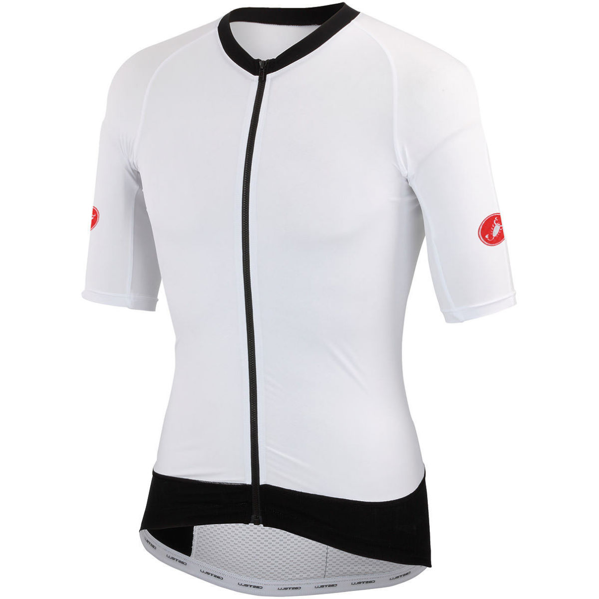 Castelli T1: Stealth Top (2016) - Extra Large White | Tri Tops