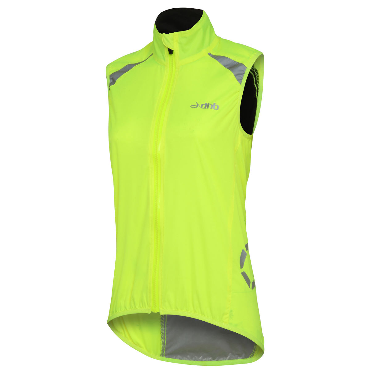 Gilet Femme dhb Flashlight (coupe-vent, sans manches) - 16 UK