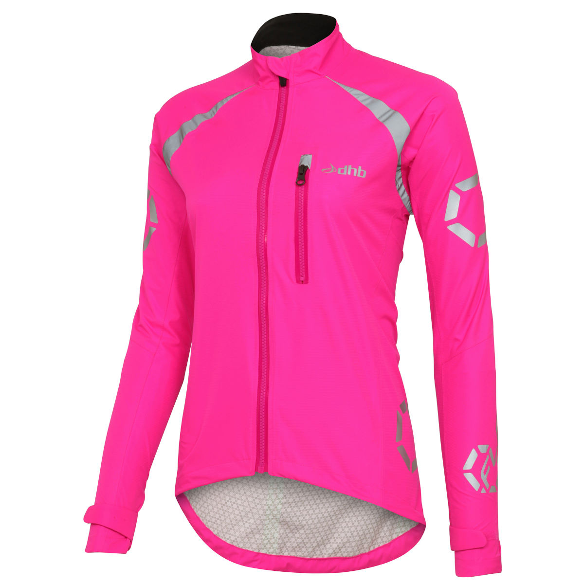 Veste Femme dhb Flashlight (imperméable) - 16 UK Fluro Pink Vestes