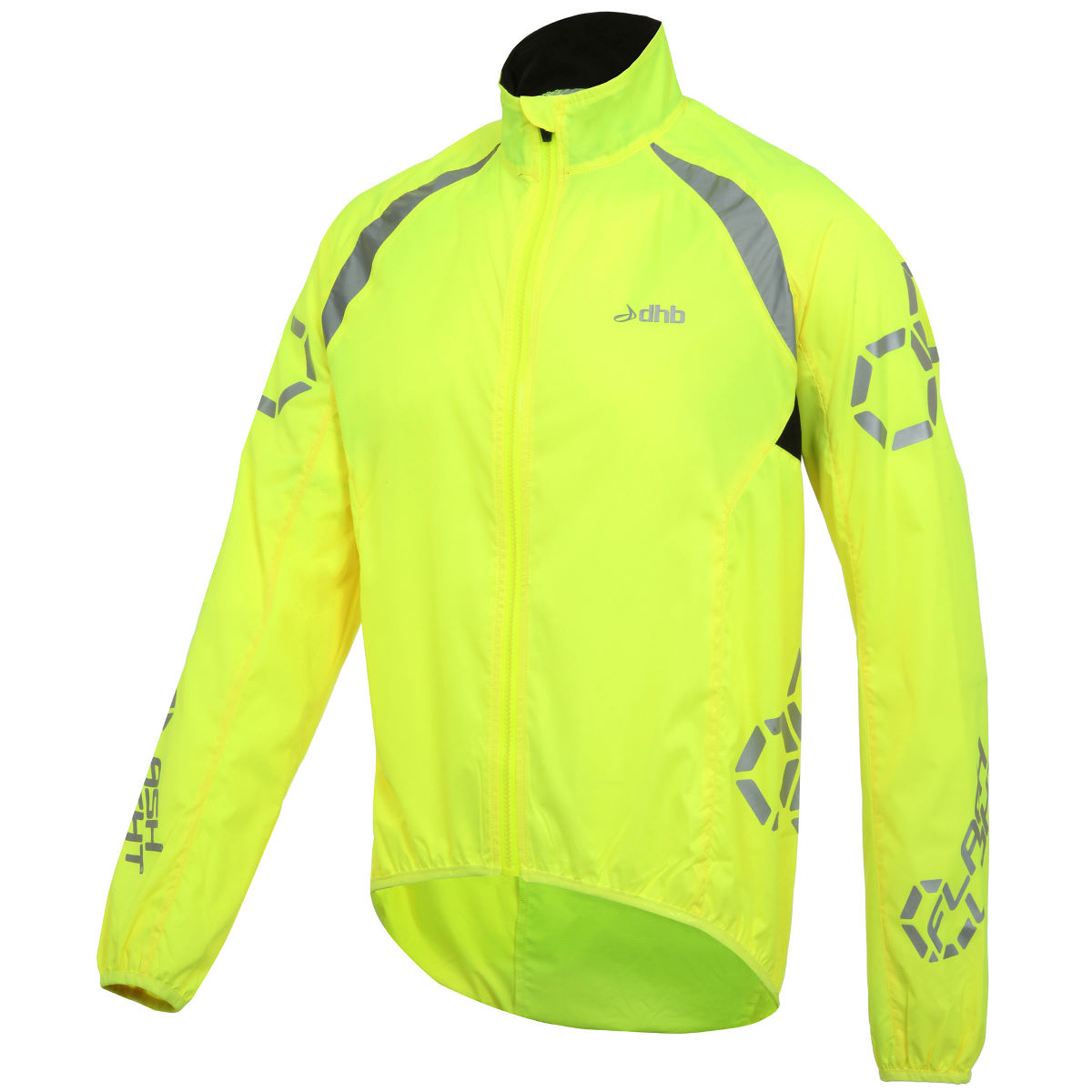 Veste dhb Flashlight (coupe-vent) - S Fluro Yellow Coupe-vents vélo