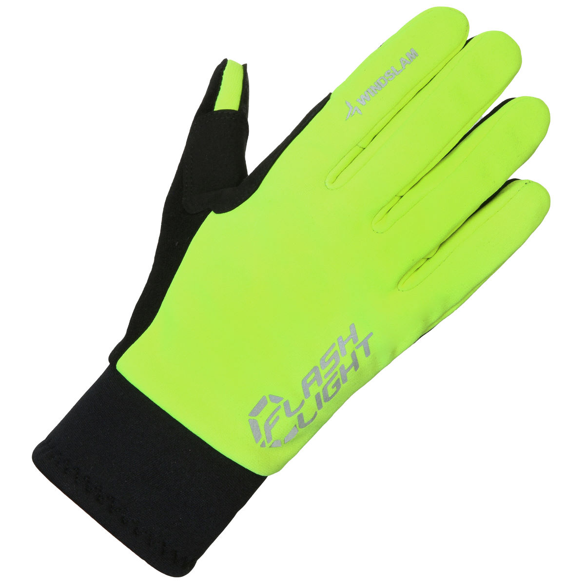 Gants cyclistes dhb Flashlight (coupe-vent) - XS Fluro Gants