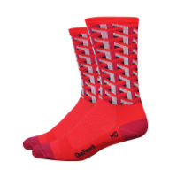 DeFeet Red Framework Socks