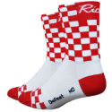 DeFeet Aireator Red Checkmate Strumpor