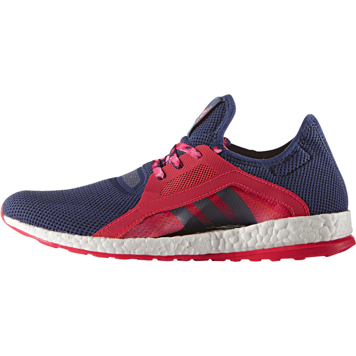 Adidas Women's Pure Boost X Shoes (Purple/Red, SS16)