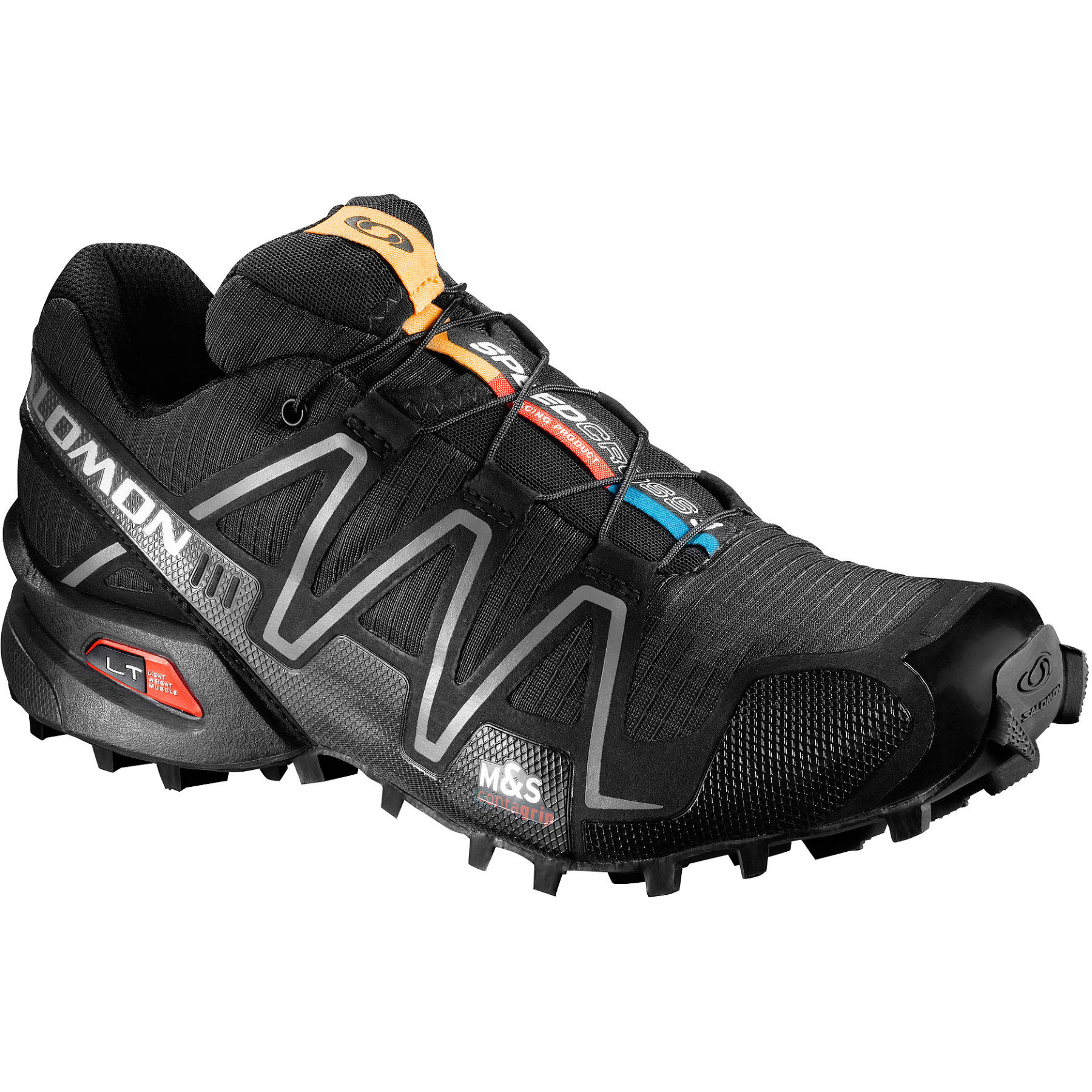 chaussures de running trail salomon women 39 s speedcross 3 shoes black ss16 wiggle france. Black Bedroom Furniture Sets. Home Design Ideas