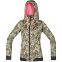 Gore Bike Wear Womens Power Trail Windstopper Print Hoody