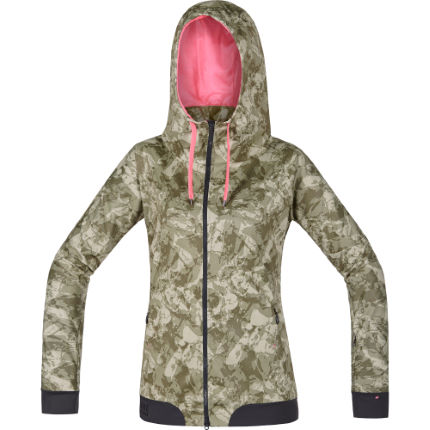 Gore Bike Wear Women's Power Trail Windstopper Print Hoody