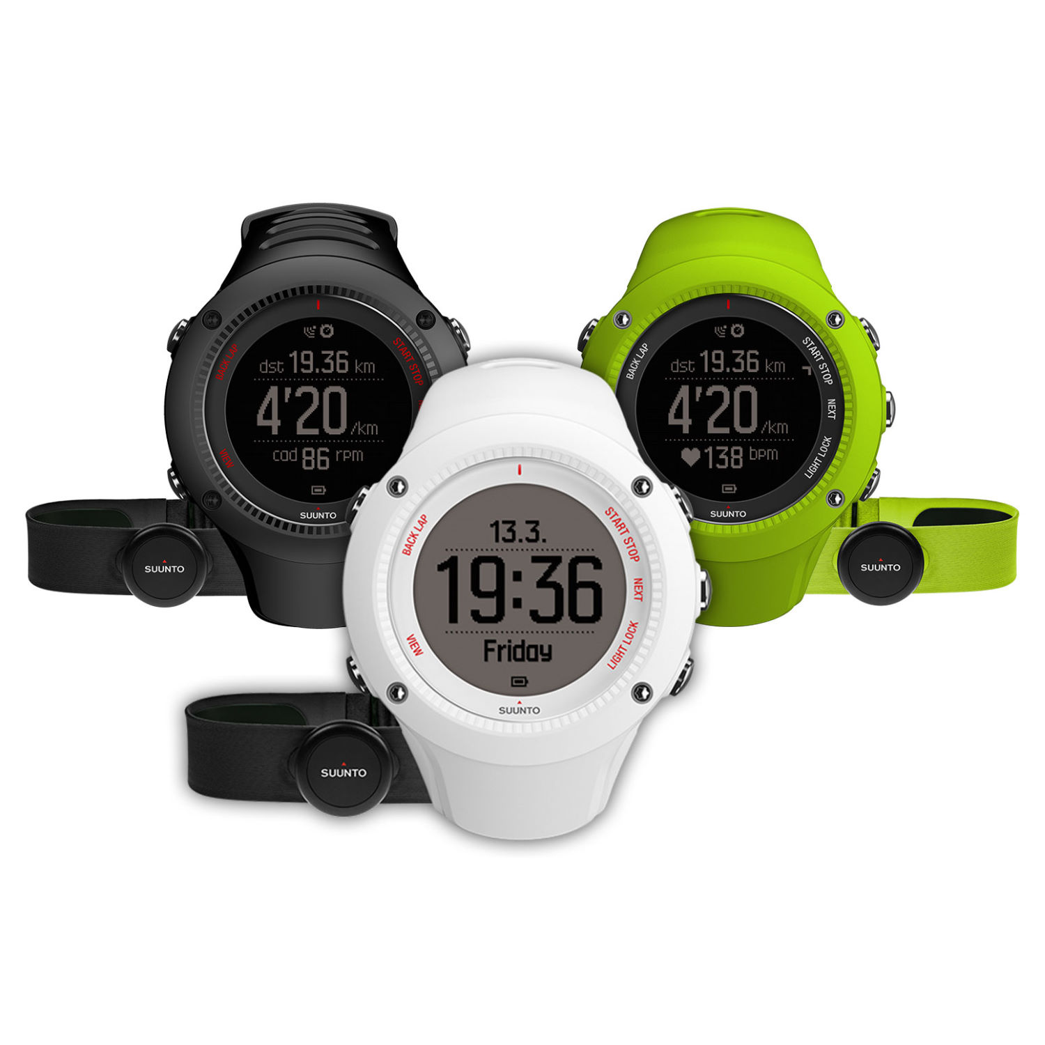compteurs gps de running suunto ambit 3 run gps watch hrm and free power monkey wiggle. Black Bedroom Furniture Sets. Home Design Ideas