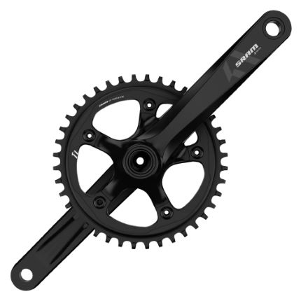 SRAM S350-1 BB30 Chainset with X-Sync Chainring