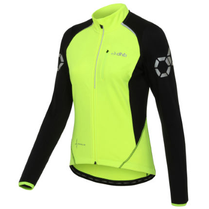 dhb Flashlight Women's Thermal Long Sleeve Jersey Yell
