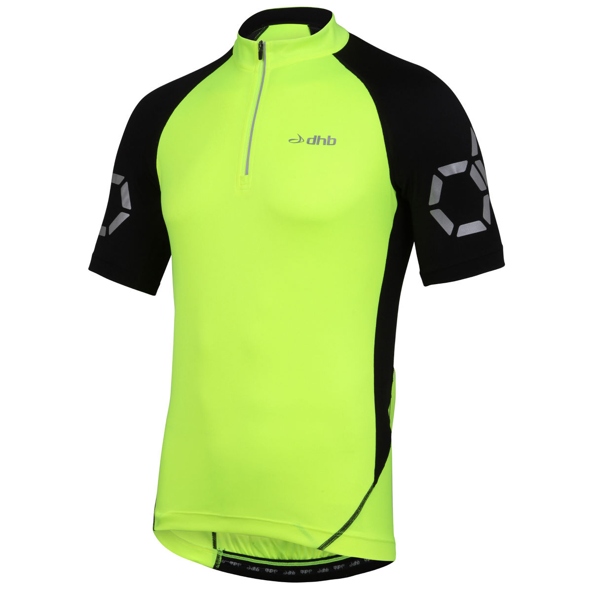 Maillot dhb Flashlight (manches courtes) - XS Jaune Maillots