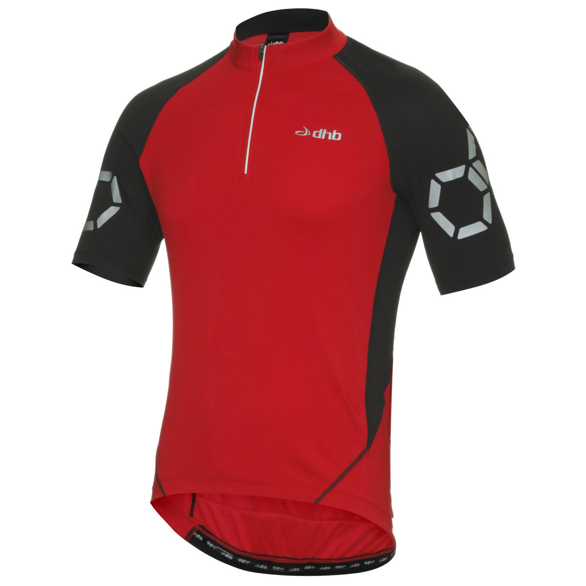Maillot dhb Flashlight (manches courtes) - XS Rouge Maillots