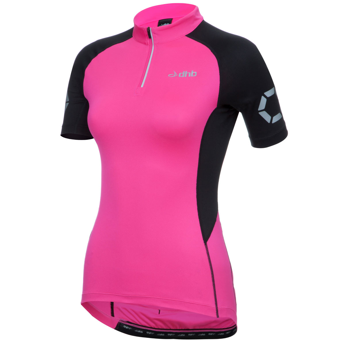 Maillot Femme dhb Flashlight (manches courtes) - 8 UK Rose Maillots