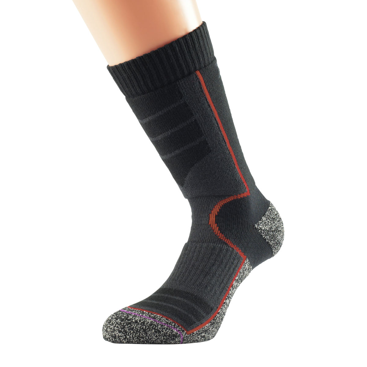 Chaussettes Femme 1000 Mile Ultra Performance (randonnée, Cupron) - S Noir Chaussettes de randonnée