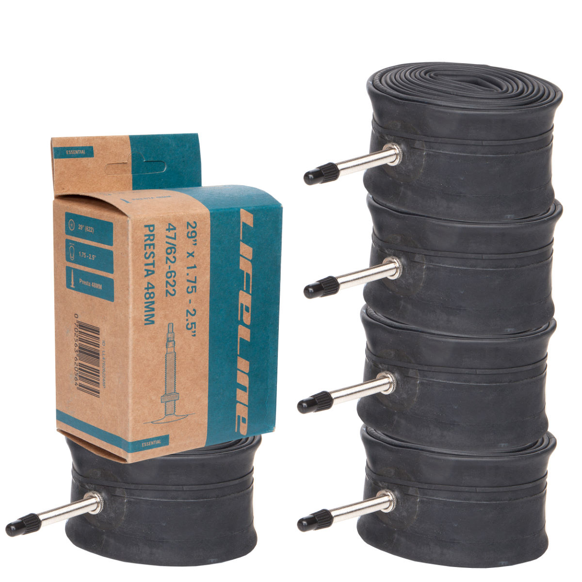 LifeLine 29er MTB 5 Pack of Inner Tubes