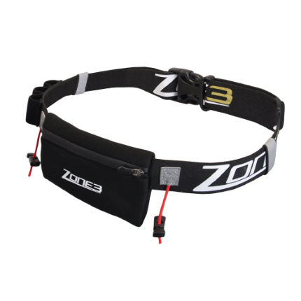 Zone3 Neoprene Pouch Race Belt (2 free energy gels*)