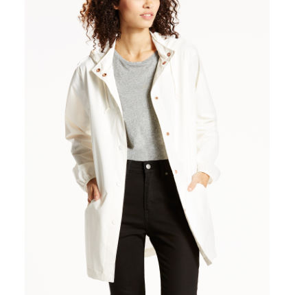 Impermeabile donna Levi's Commuter (bianco)