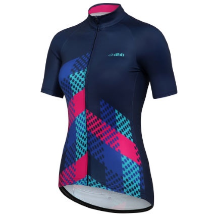 dhb Blok Womens Polka SS Lightweight Thermal Jersey