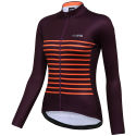 dhb Classic Womens Breton Long Sleeve Thermal Jersey