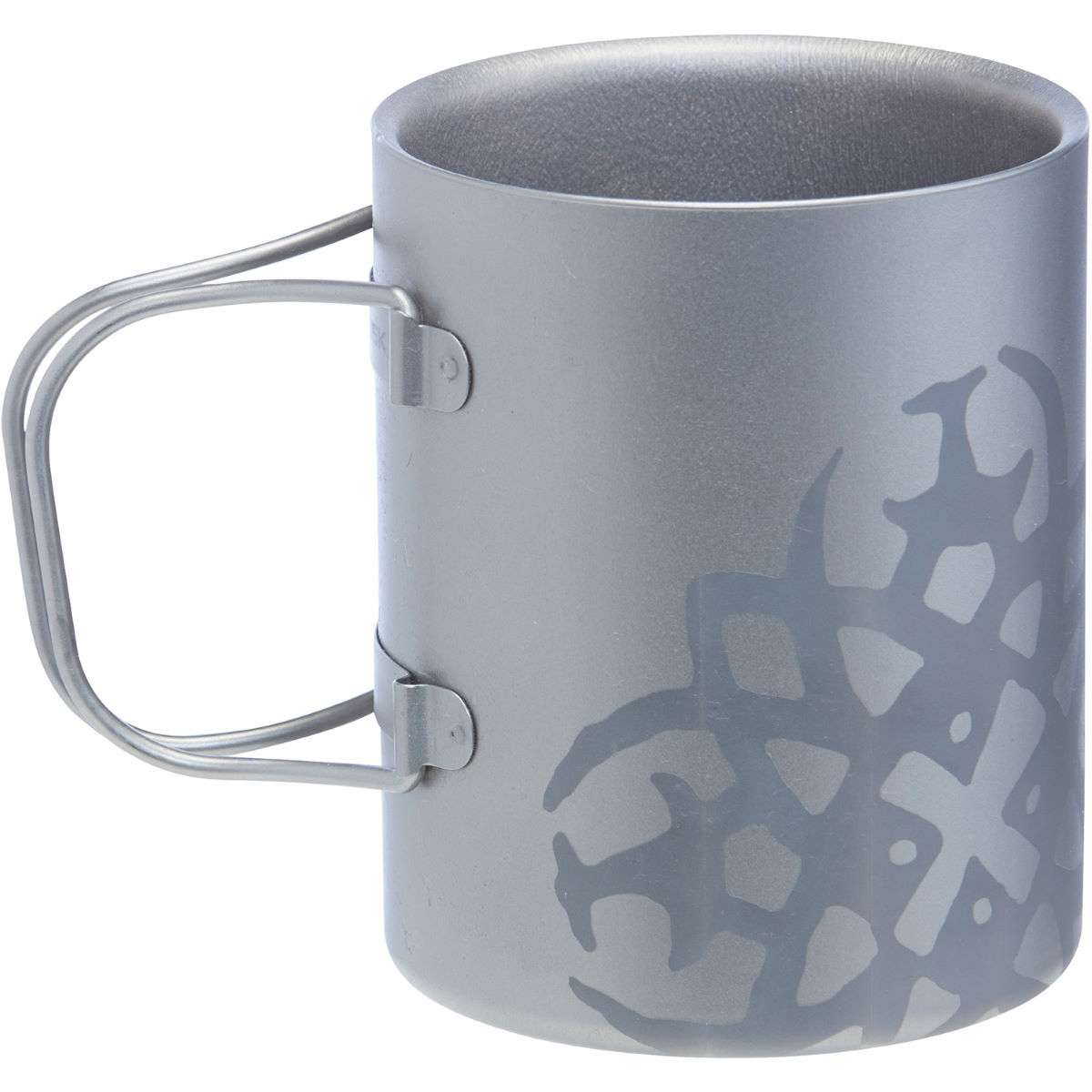 Nordisk Titanium Double Walled Mug (450ml)   Kitchen Equipment
