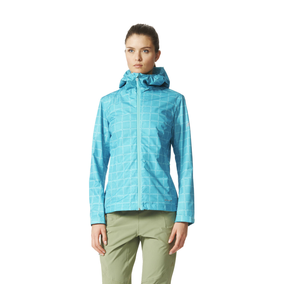 Adidas Womens AOP Wandertag Jacket (SS16)   Waterproof Jackets