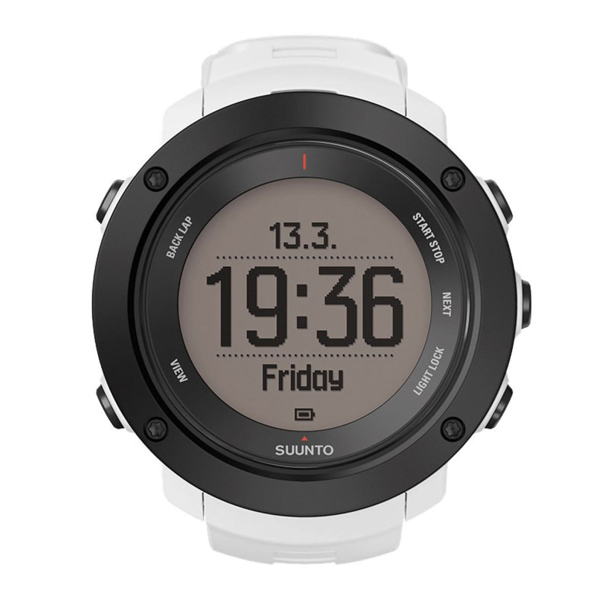 Montre Suunto Ambit 3 Vertical - Blanc Compteurs GPS de running