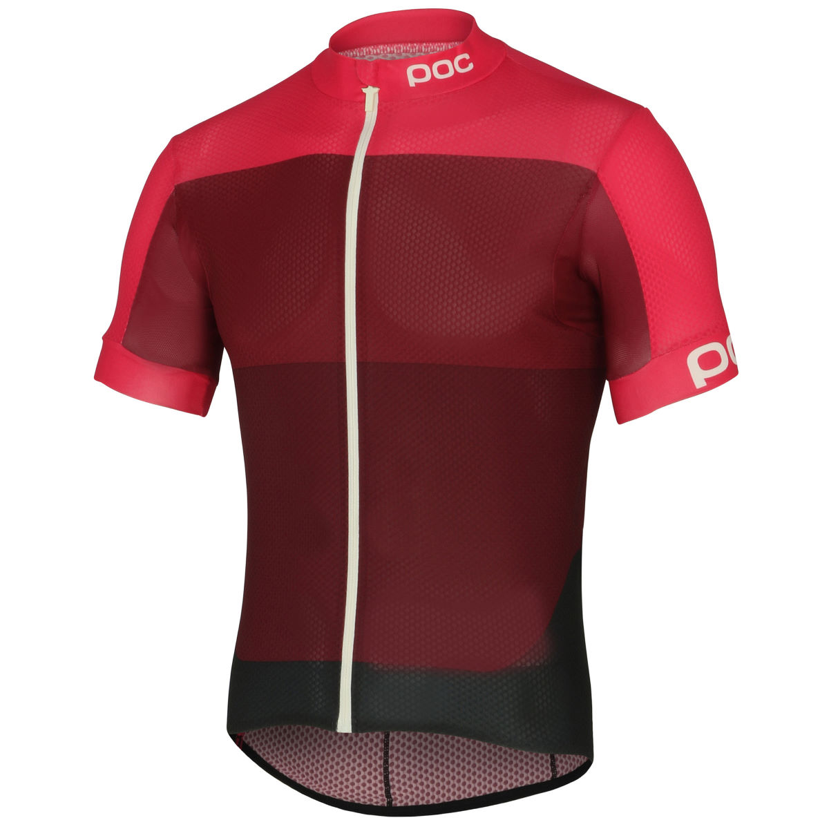 Maillot POC Fondo Light - Extra Large Sulfate Pink Maillots vélo à manches courtes