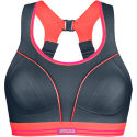 Shock Absorber Ultimate Run Bra (Grey/Coral)