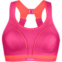 Shock Absorber Ultimate Run Sports Bra - Pink/Coral