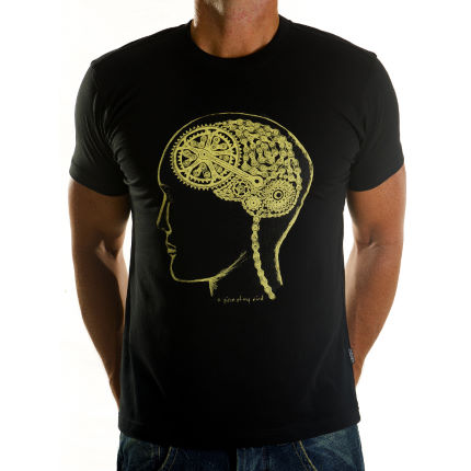 Cycology Bike Brain TShirt