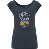 Plain Lazy My Other Jersey is Yellow TShirt Frauen (Bamboo)