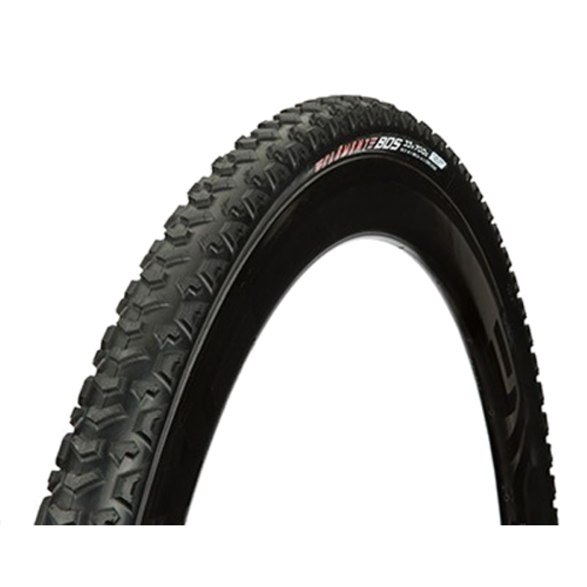 Pneu Clement BOS Tubeless (souple, cyclo-cross) - 700 x 33c Noir Pneus cyclo-cross
